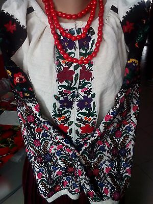 Ukrainian embroidered blouse(or suit),vintage 1930-1940y, Borschiv region, L-XL,
