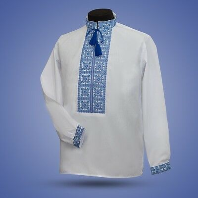 Ukrainian embroidery, embroidered shirt, XS - 3XL, 2 colors, Ukraine
