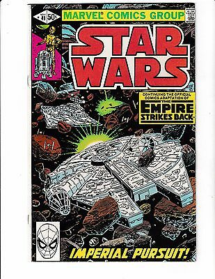 STAR WARS #41 VF/NM Adaption of THE EMPIRE STRIKES BACK! Millennium Falcon Cover