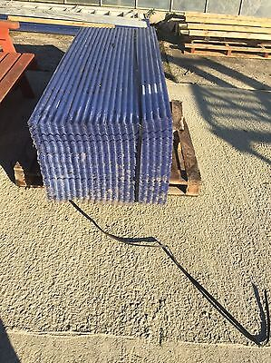 Brand New 6ft Mini PVC Clear Corrugated Roofing Sheets