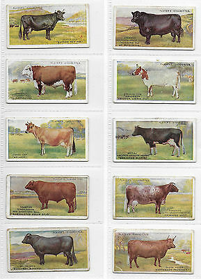 Cigarette Cards - British Live Stock - Players 1915 - Complete Full Set