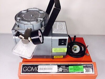 Gomco 30001 Tabletop Aspirator Suction Vacuum Pump by Allied Healthcare