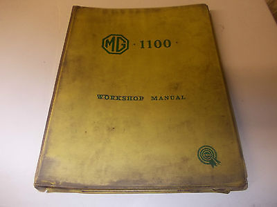 MG 1100 BMC workshop manual