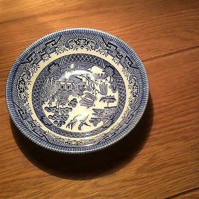 Royal Wessex Willow Pattern Blue And White Dishes