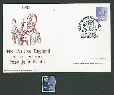 1982. Visit Of  Pope John  Paul  Ii To  Edinburgh