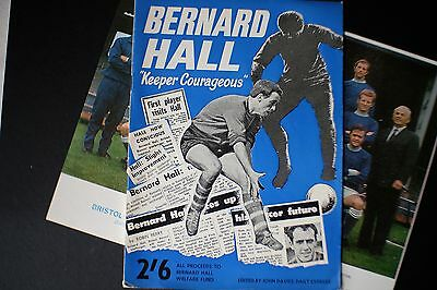 "1967 Bernard Hill ""Keeper Courageous"" Bristol Rovers Forced to retire age 26"