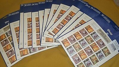 Lot Of 13 New Sealed Women In Journalism Sheets Postage Stamps $96.20 Face Value