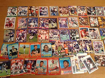 Job Lot of 300+ NFL American football Trading Cards Reggie White & Troy Aikman