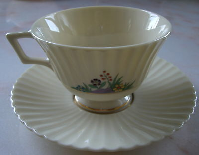 Lenox Rutledge Coffee Cup And Saucer