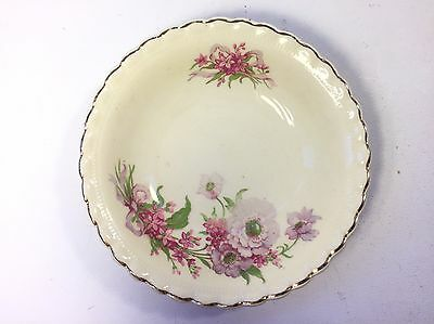 "Vintage J & G Meakin England Plate - Flower Design 5.5"" - Collectible Display"