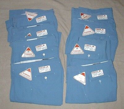 Vintage Men's Golf Pants Lot 8 Various Sizes McGregor Blue New Old Stock w/tags
