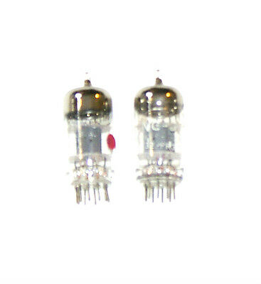 One Matched Pair Of Tung-Sol 12At7  Vacuum Tubes   Tested Very Strong.
