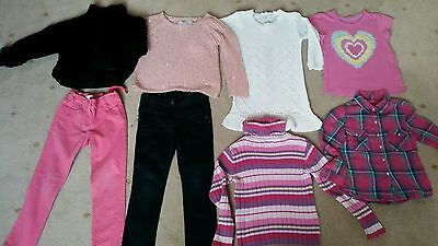 girls beautiful warm and cosy winter clothing bundle aged 6-7 years