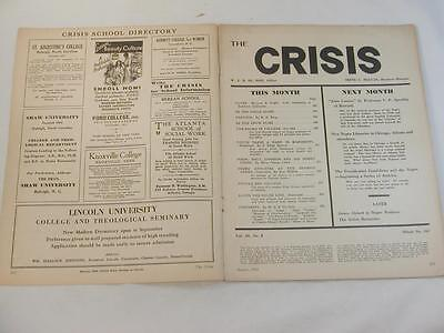 Aug. 1932 The Crisis Magazine Naacp African American Historical Black History