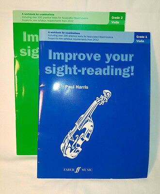 'Improve your sight-reading!' for Violin Grade 1 and Grade 2 by Paul Harris