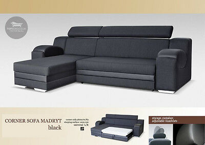 - Madryt - Brand New Universal Corner Sofa Bed,Sleep Function more than 4 seater