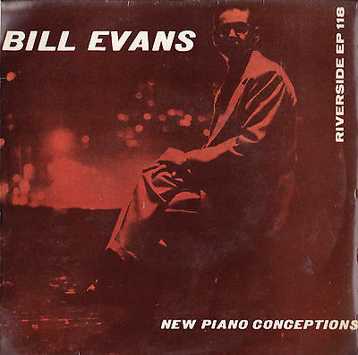 Bill Evans : New Piano Conceptions : Riverside E.p : New Jazz Conceptions