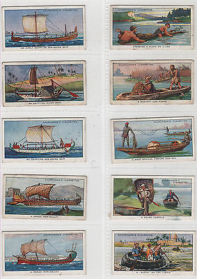 Cigarette Cards - The Story Of Navigation - Churchman 1936 - Complete Full Set