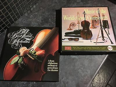 World's Great Composers /150 best Loved Melodies 20 LP Box set Bundle
