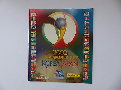 Album Panini - Fifa World Cup - Korea Japan - 2002