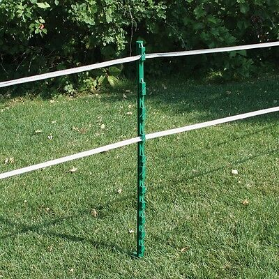 Electric Fencing Plastic Posts Green Rutland pack of 10