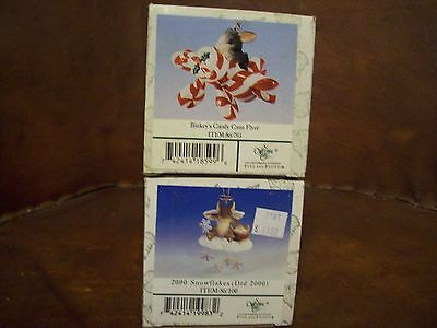 Fitz & Floyd Lot of 2 Charming Tails (121)