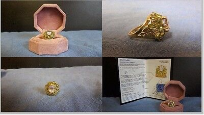 10KT Gold Ring! Comes with certificate of appraisal (2250$) Happy Bidding!