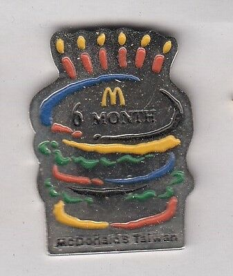 McDonalds 6 Month Taiwan Pin !!