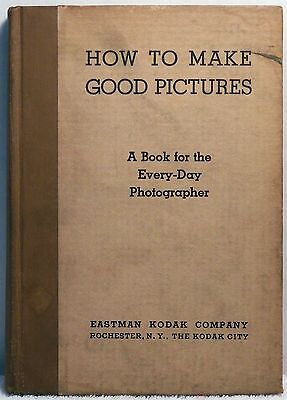 1935 HOW TO MAKE GOOD PICTURES Kodak Photography Technique Instruction Vintage