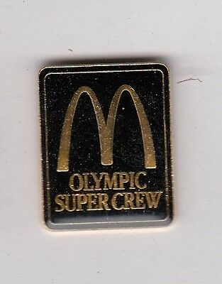 McDonalds Olympic Super Crew Pin !!