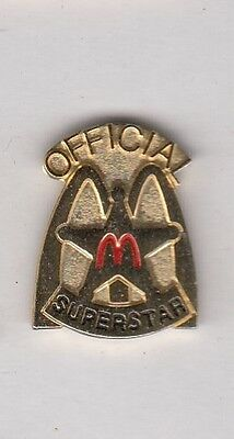 McDonalds Official Superstar Pin !!