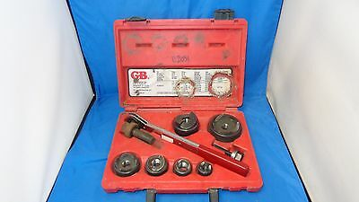 "GB Garden Bender KOW-520 - 1/2"" to 2"" - Conduit Knockout Punch Driver Set"