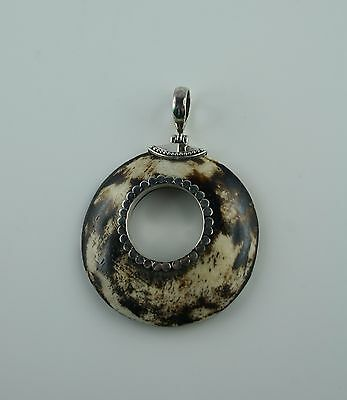 Horn Carving aus Bali  mit Sterling Silber