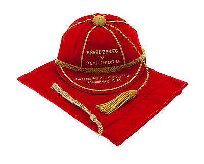 Aberdeen v Real Madrid 1983 European Cup-Winners Cup Final commemorative cap