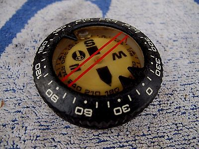 Oceanic Side Scan Compass Good Condition As Photos Show