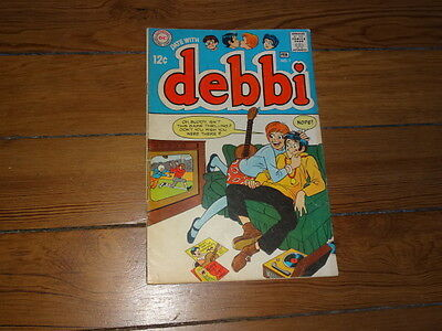 Date With Debbi  #1  Dc 1969 Comic