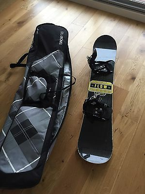 Snow Board Bag, Snowboard and Boots