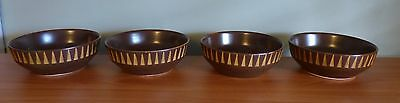 Iroquois Forum International set of 4 soup/cereal bowls -- Ben Seibel