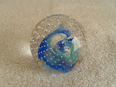 CAITHNESS Scotland Art Glass Collectors Club PAPERWEIGHT - REFLECTIONS '93