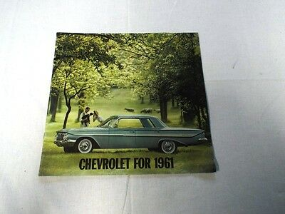 1961 Chevrolet Brochure - 12 Pages