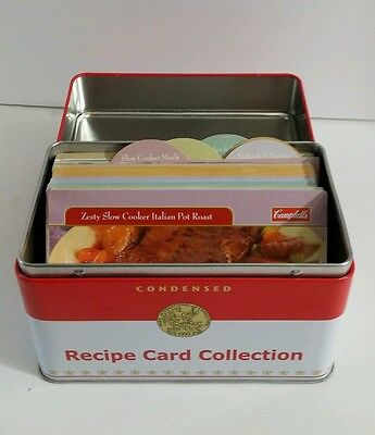 Campbells Condensed Recipe Card Collection