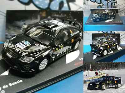 coche car voiture  Ford Focus RS WRC 08  Rally  Suécia 2010  Ixo/Altaya 1:43