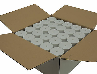 "BPA Free thermal paper 3 1/8 x 215 feet 2 5/8"" diameter CORELESS 50 rolls"