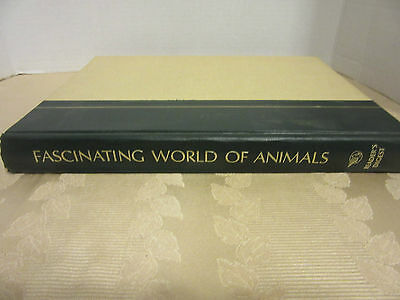 1971 Book-Fascinating World Of Animals-Readers Digest