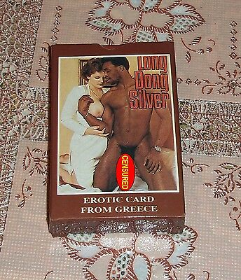 LONG DONG SILVER carte gioco poker vintage porn star card_invio foto in privato