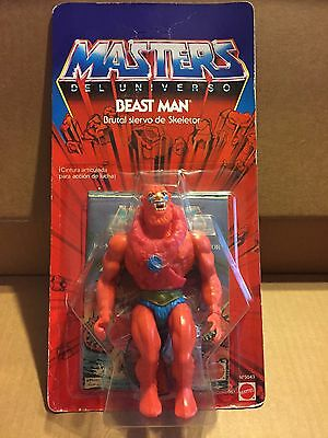 Beast Man Masters Of The Universe Congost 6 Back Moc Introvabile,perfect!!!