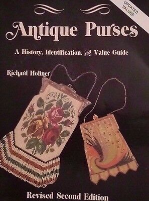 VINTAGE BEADED PURSE PRICE GUIDE COLLECTORS BOOK Whiting and Davis Chatelaine