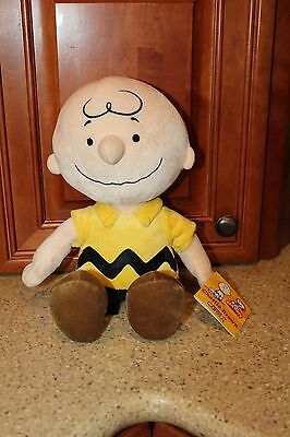 Kohls Cares Charlie Brown Plush Doll New With Tags Peanuts