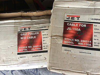 Jet 1.5 Ton Grip Puller 286515 With Cable 286514
