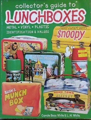 VINTAGE LUNCHBOX ENCYCLOPEDIA ID VALUE GUIDE MEMORABILIA BOOK Full Color